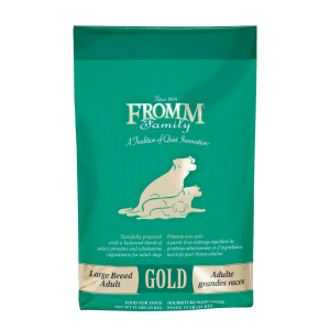 fromm gold large breed adult, 33lb