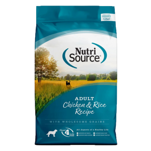 Nutrisource adult dog food, 30lb